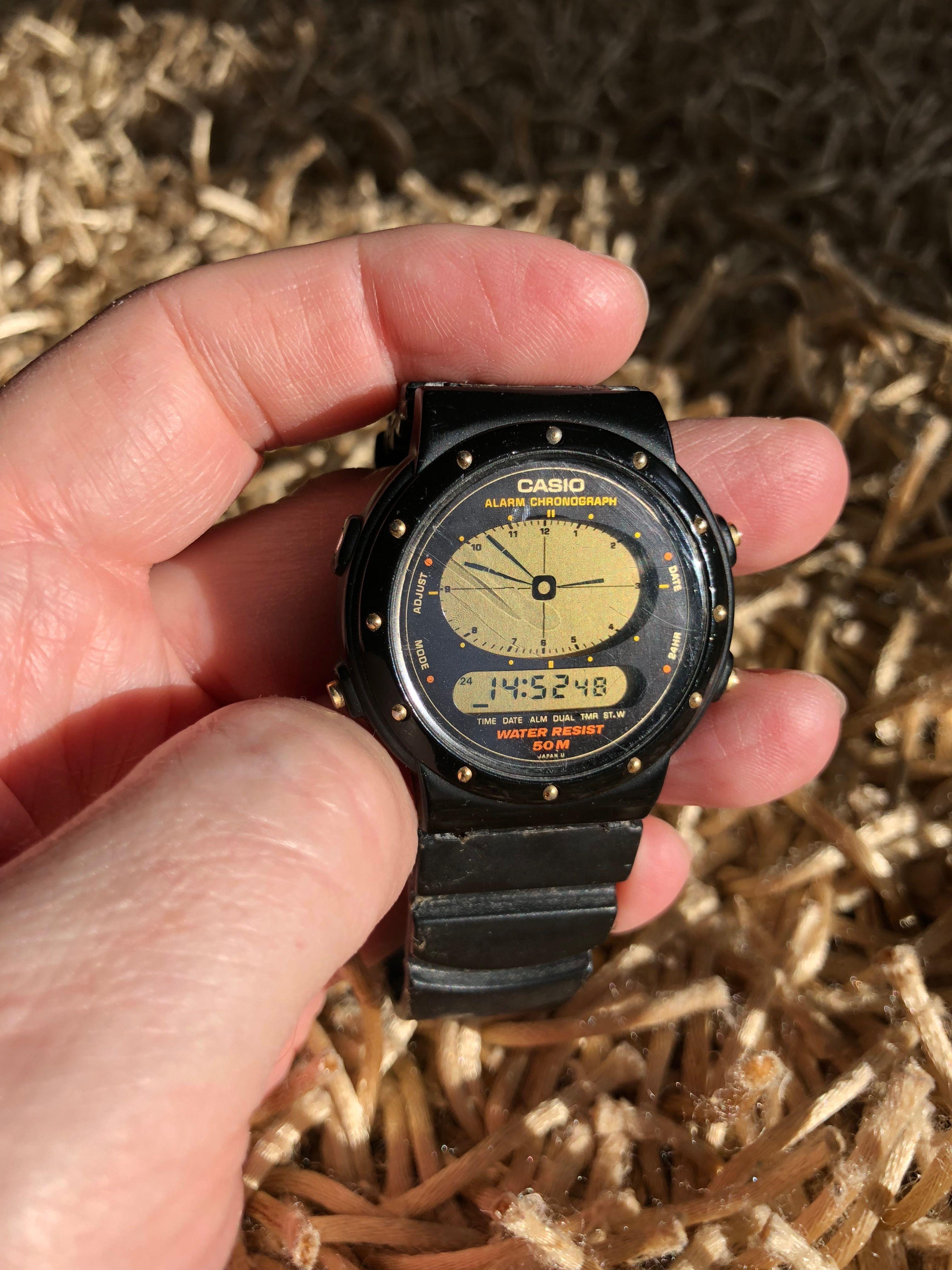 Casio AE-30w (1989) Armani Watches For Men e67d162213