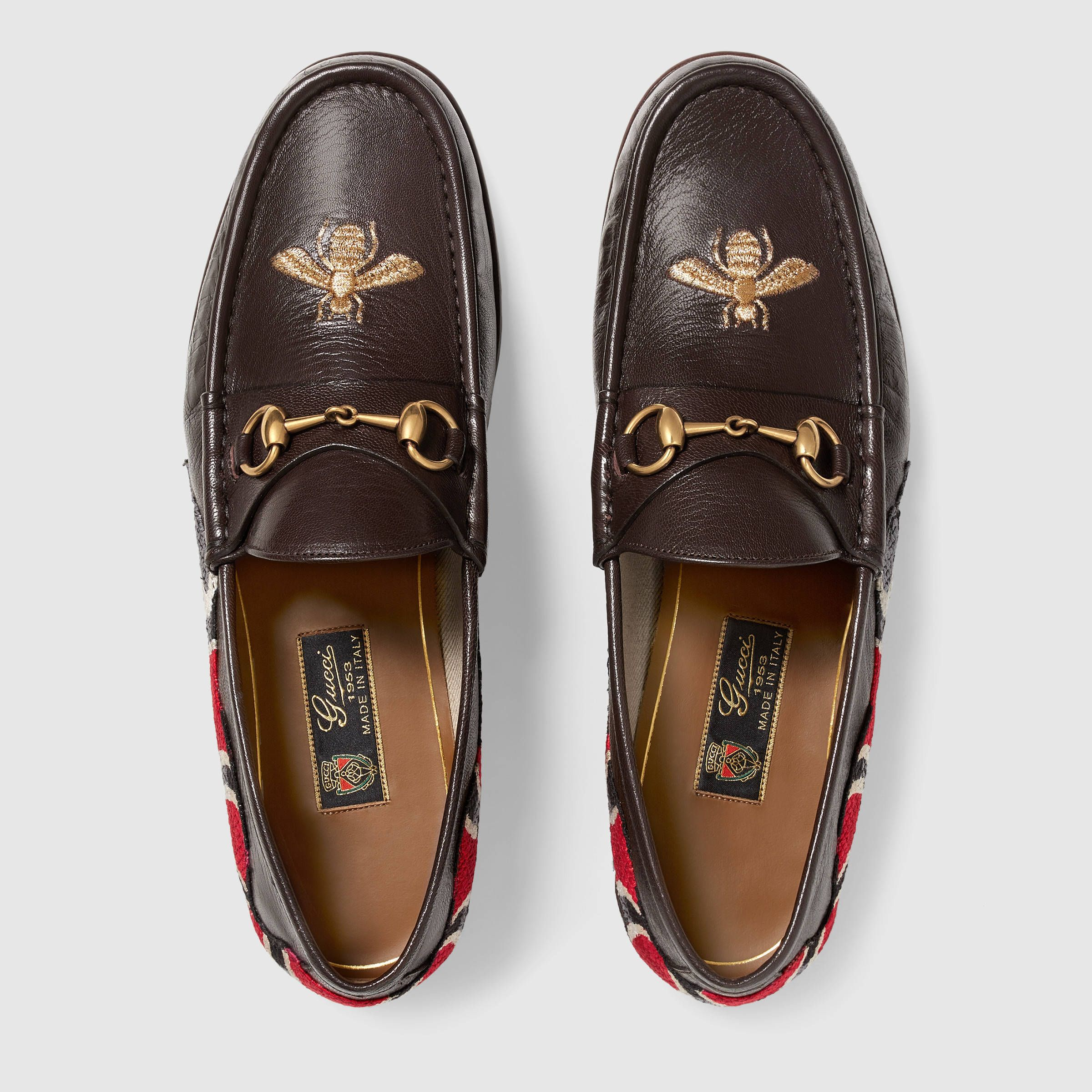 70159af5e3c Gucci Leather loafer with snake Detail 3