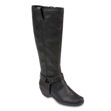 Black A2 By Aerosoles Womens Boots Aerosoles In An Instint