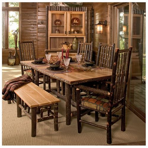 Furniture Rustic Dining Room, Lodge Style Dining Room Furniture