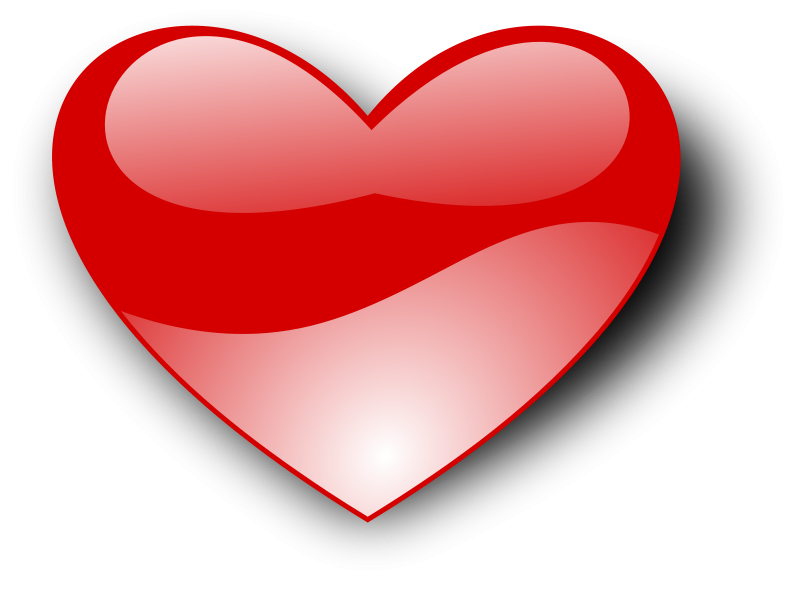 heart clipart free love and romance graphics