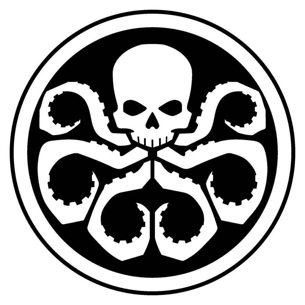 HYDRA Logo Decal