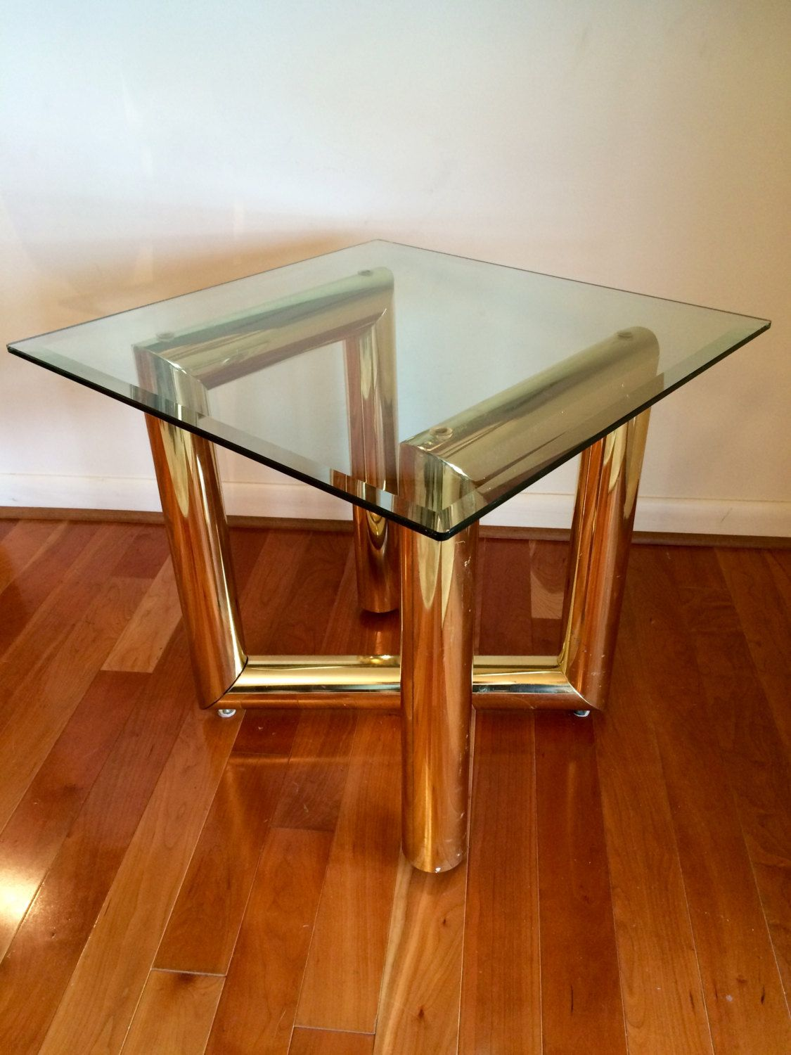 Karl Springer Large Side Table Z Shaped Occasional Table Mid Etsy Side Table Unusual Furniture Occasional Table [ 1500 x 1125 Pixel ]