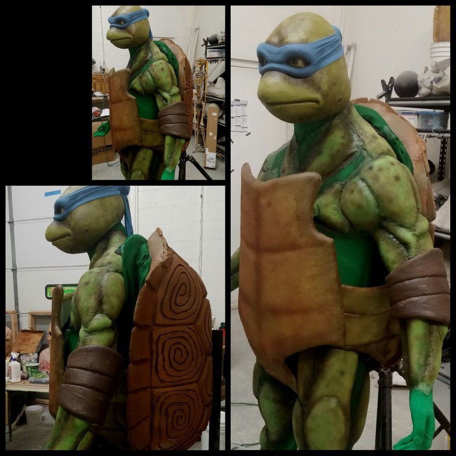 My Client Wanted A Better Tmnt Suit Than He Could Find On The Market So I Strived To Ma Teenage Mutant Ninja Turtle Ninja Turtles Teenage Mutant Ninja Turtles