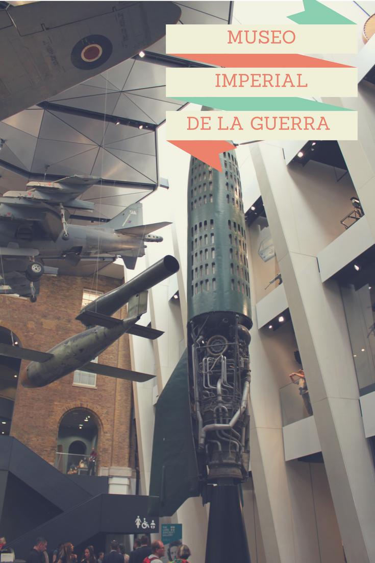 El Museo Imperial de Guerra cubre los conflictos armados en los que participó Gran Bretaña  desde la Gran Guerra hasta Irak y Afganistán.