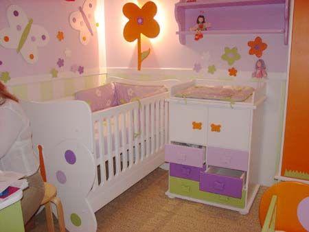 Resultado de imagen para habitaciones para bebes ni os - Habitaciones de ninas ...