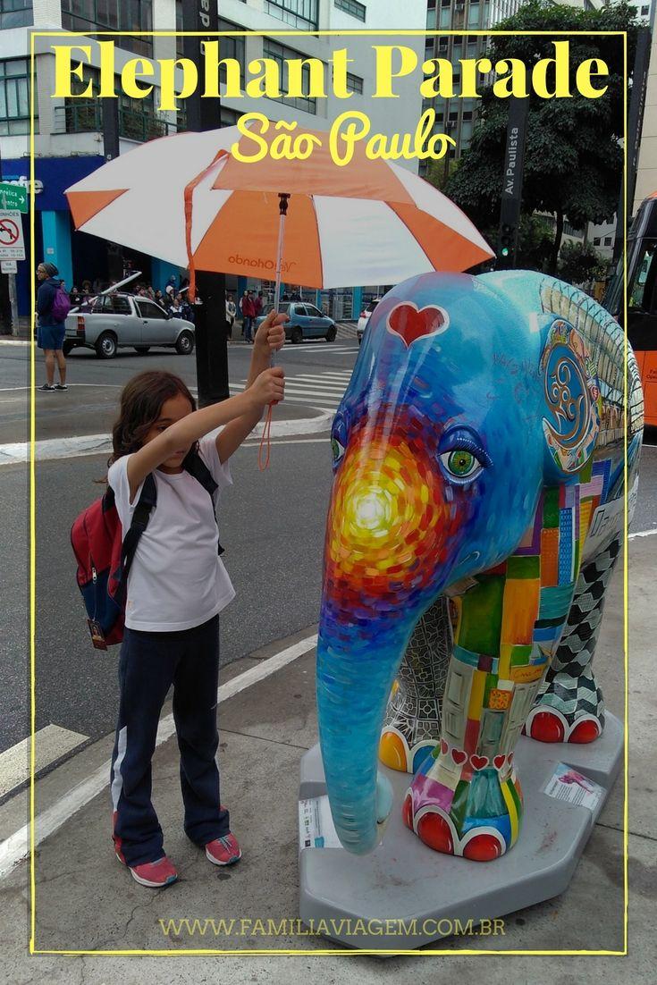 Elephant Parade Uma Solidaria Manada De Arte Nas Ruas De Sao