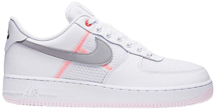 Air Force 1 Low 'Transparent White Grey' in 2020 Hype