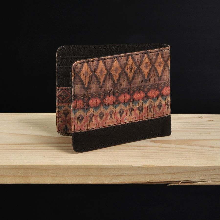 Pinnata Batik Purple #dompet #wallet #kayu
