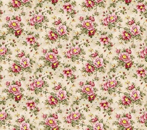 Vintage Floral Papers