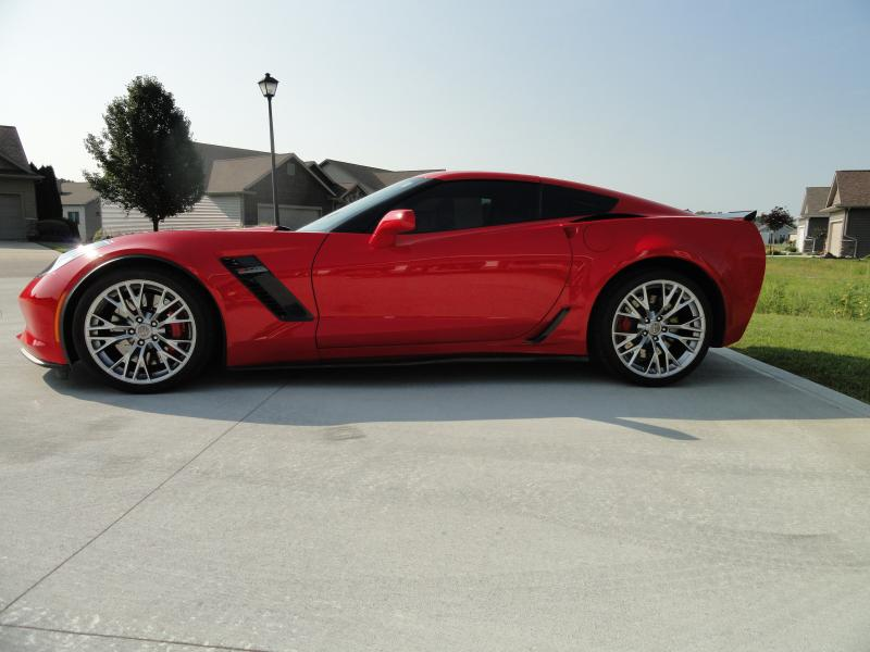 2015 Z06 Torch Red 8spd Automatic Corvette Used Corvette Corvette For Sale