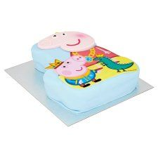 Peppa Pig Celebration Cake Tesco Groceries Birthday Shopping