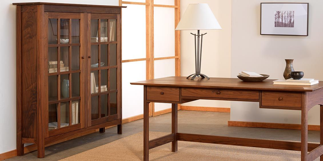 Shaker Bookcases Handcrafted In Vermont Natural Solid Wood American Made Best Quality