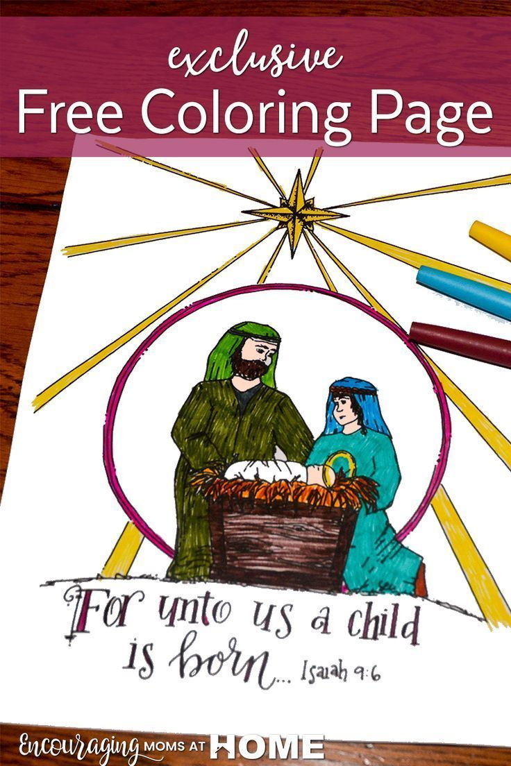 if your kids love to color christmas is a great time to combine this physical activity with learning more about the advent season and the nativity