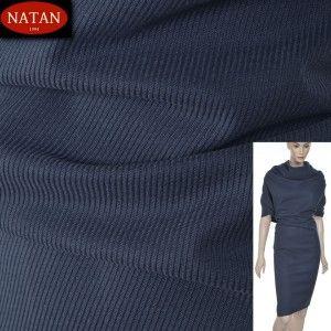 Grubsza tkanina bawełniana , wzór diagonal , kolor AVIO  tkanina bardzo miła w dotyku, ładnie