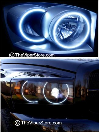 dodge ram srt10 2004 2006 headlight accessories and parts. Black Bedroom Furniture Sets. Home Design Ideas
