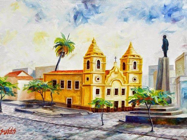 Artista Pernambucano: PINTURA - óleo sobre tela 70x50 2014, Joaz Silva
