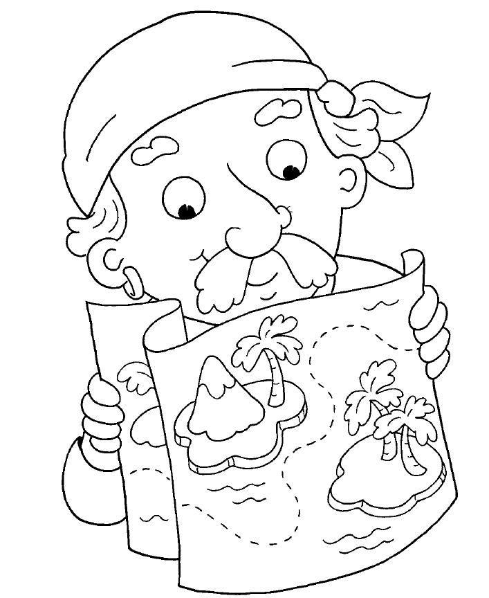 Maestra de Infantil: Piratas. Dibujos para colorear. Caretas, gifs