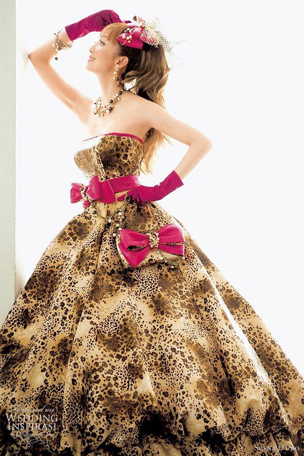 Scena D Uno Western Wedding Dresses Inspirasi Leopard Print Weddinganimal