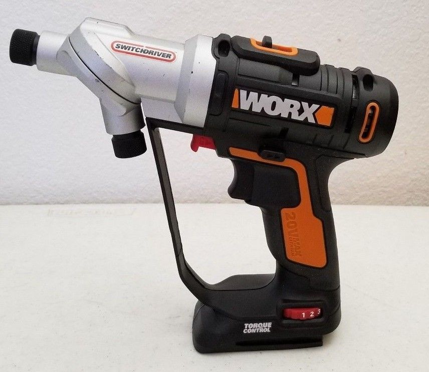 67 pc Kit Brand New Worx Switchdriver Drill WX176L.1