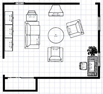floor planning pinterest furniture placement