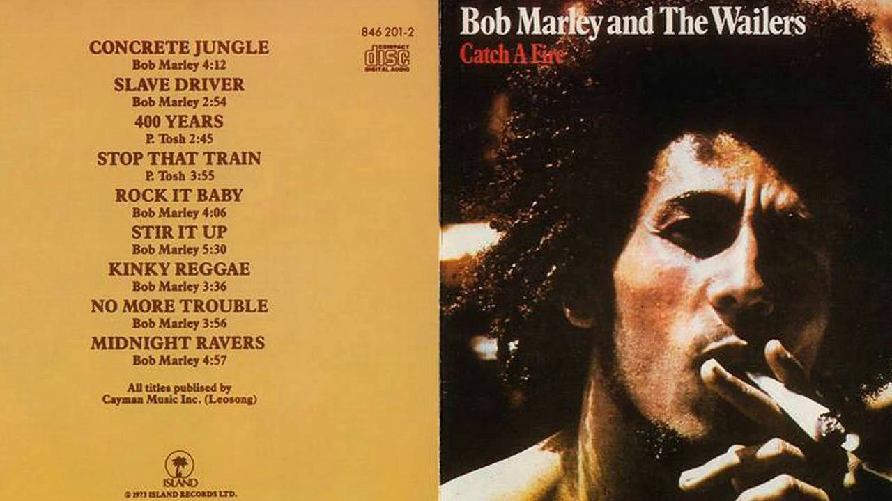 "Bob Marley ""Concrete Jungle"" — 'Catch a Fire' (1973)"