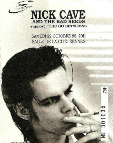 Pin De Gerard Sanchez En Nick Cave Cantantes Portadas Musical