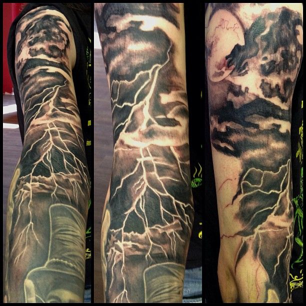 9 topmost lightning tattoos for 2018