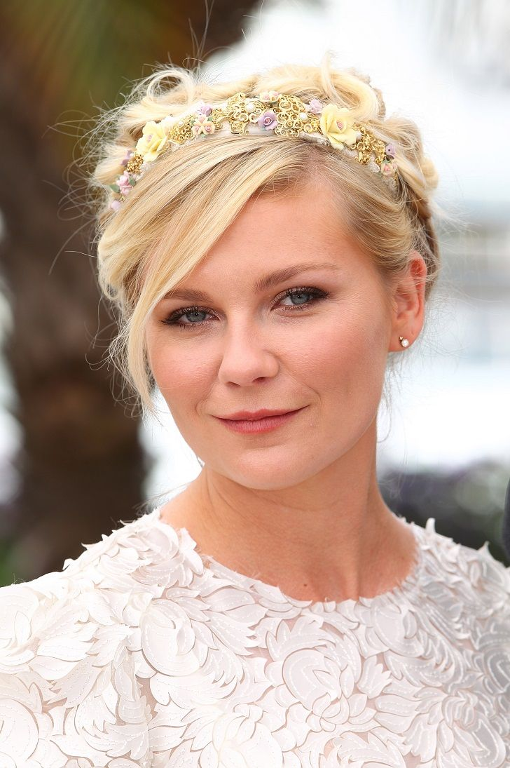 wedding hairstyle for round face, wedding hairstyle for