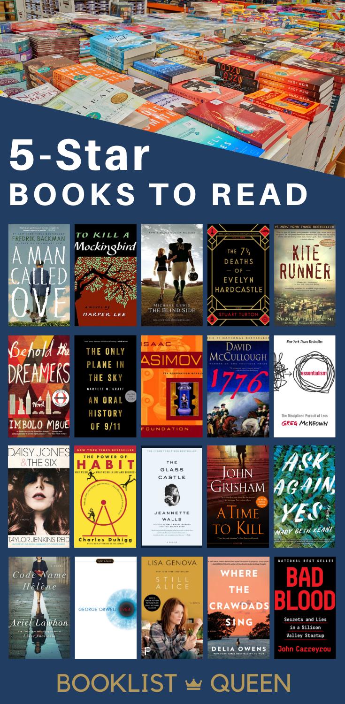50 Incredible 5 Star Books