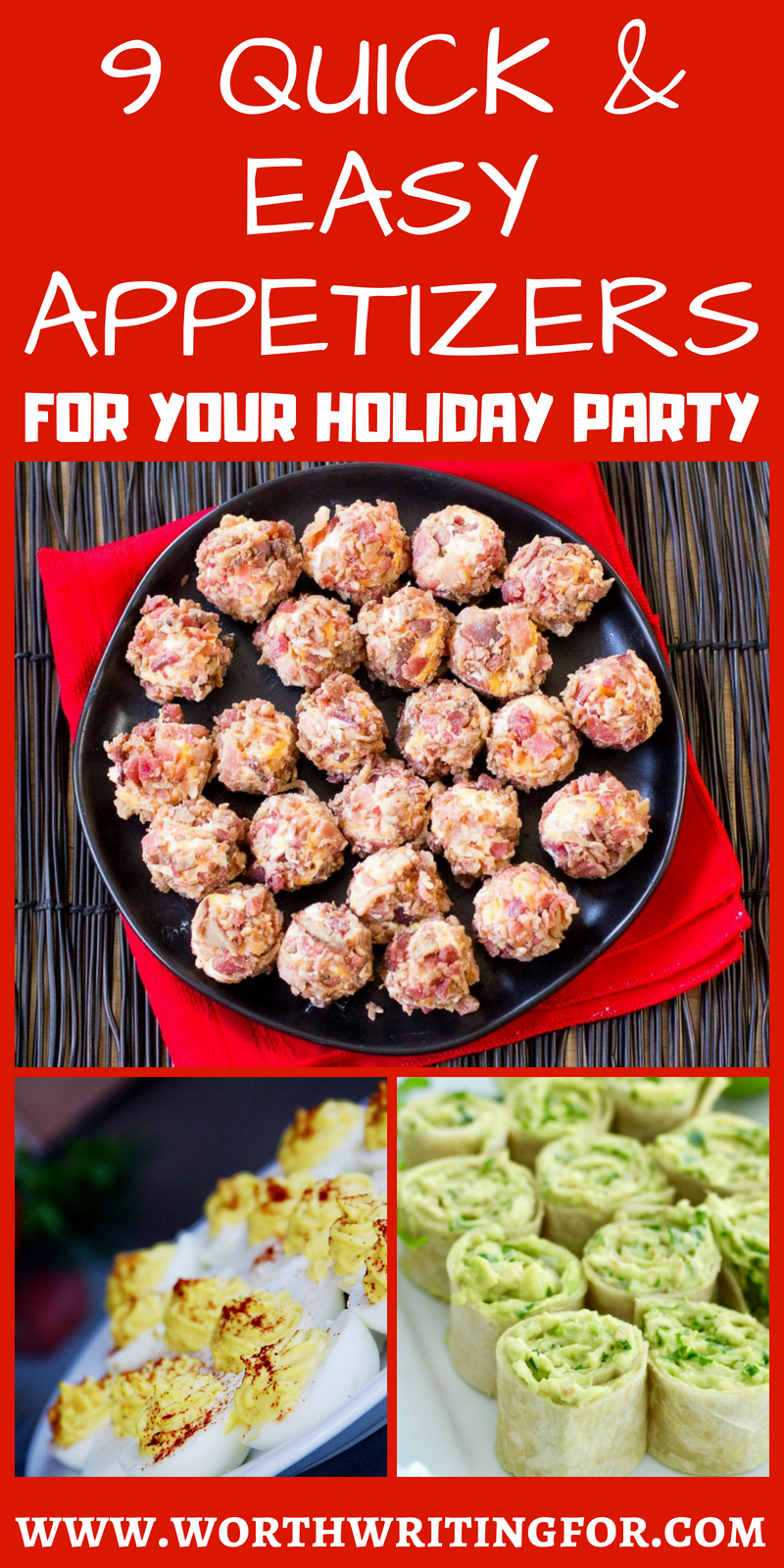 9 Quick and Easy Appetizers for Your Holiday Party or Potluck images