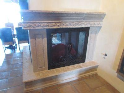 U Shaped Custom Fireplace Doors Fireplace Doors Custom
