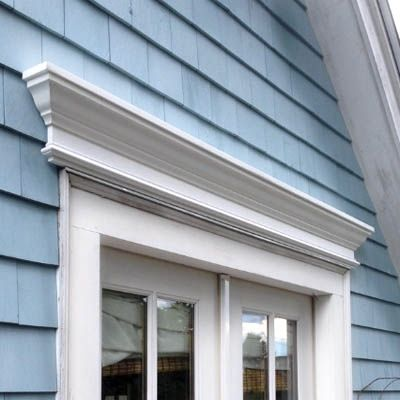 24 Custom No Rot Pvc Pediment And Window Header With Crown Moulding And Base Trim Window Trim Exterior Pvc Window Trim Shutters Exterior