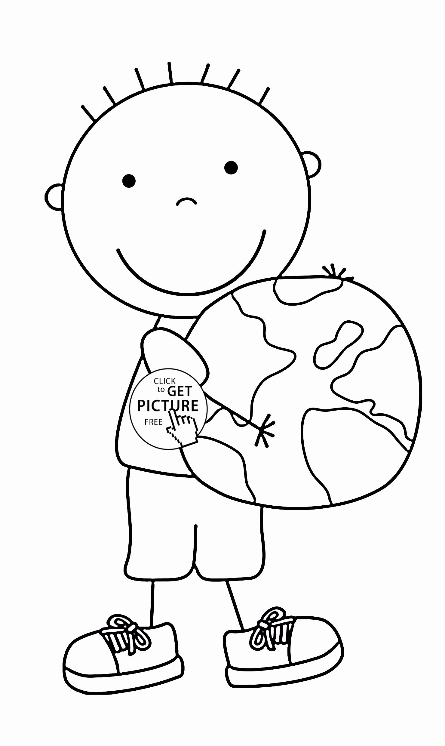 Holiday coloring pages to print luxury keep the earth