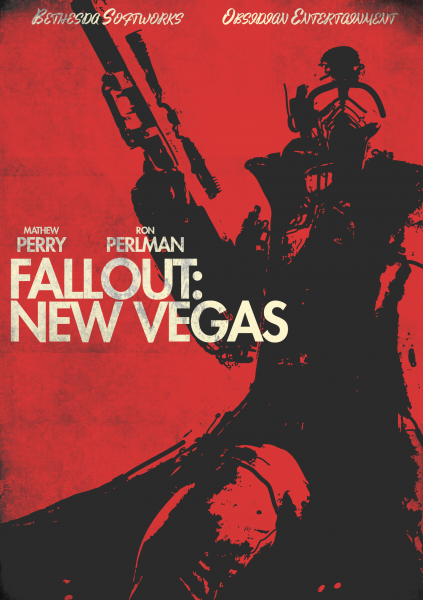 Fallout New Vegas Poster Fallout New Vegas Fallout Fallout Art