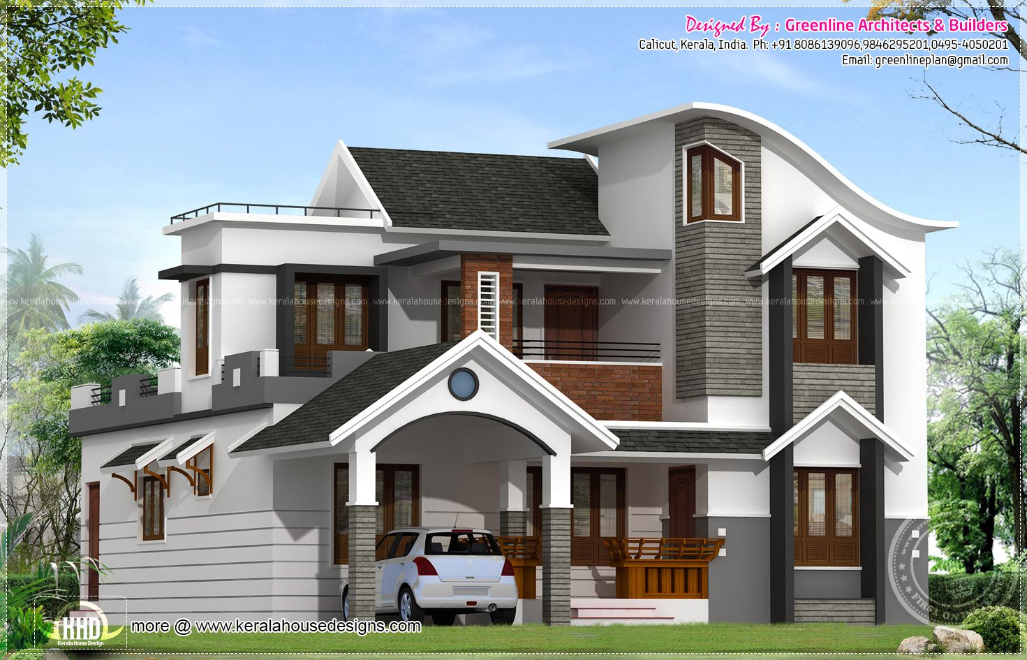 home plans in kerala with estimate prices kerala house on house paint colors exterior simulator id=84584