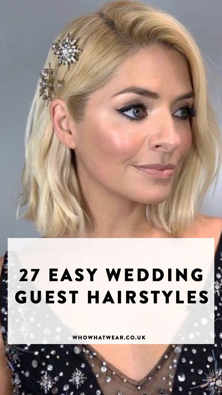 27 of the Best (and Easiest) Wedding-Guest Hairstyles