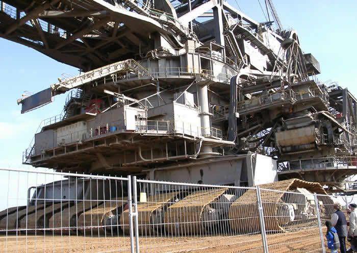 Giant Digging Machine Bwe Bucket Wheel Excavator With Images