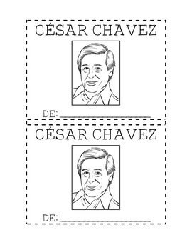 Cesar Chavez Mini Book Mini Books Kindergarten Social Studies