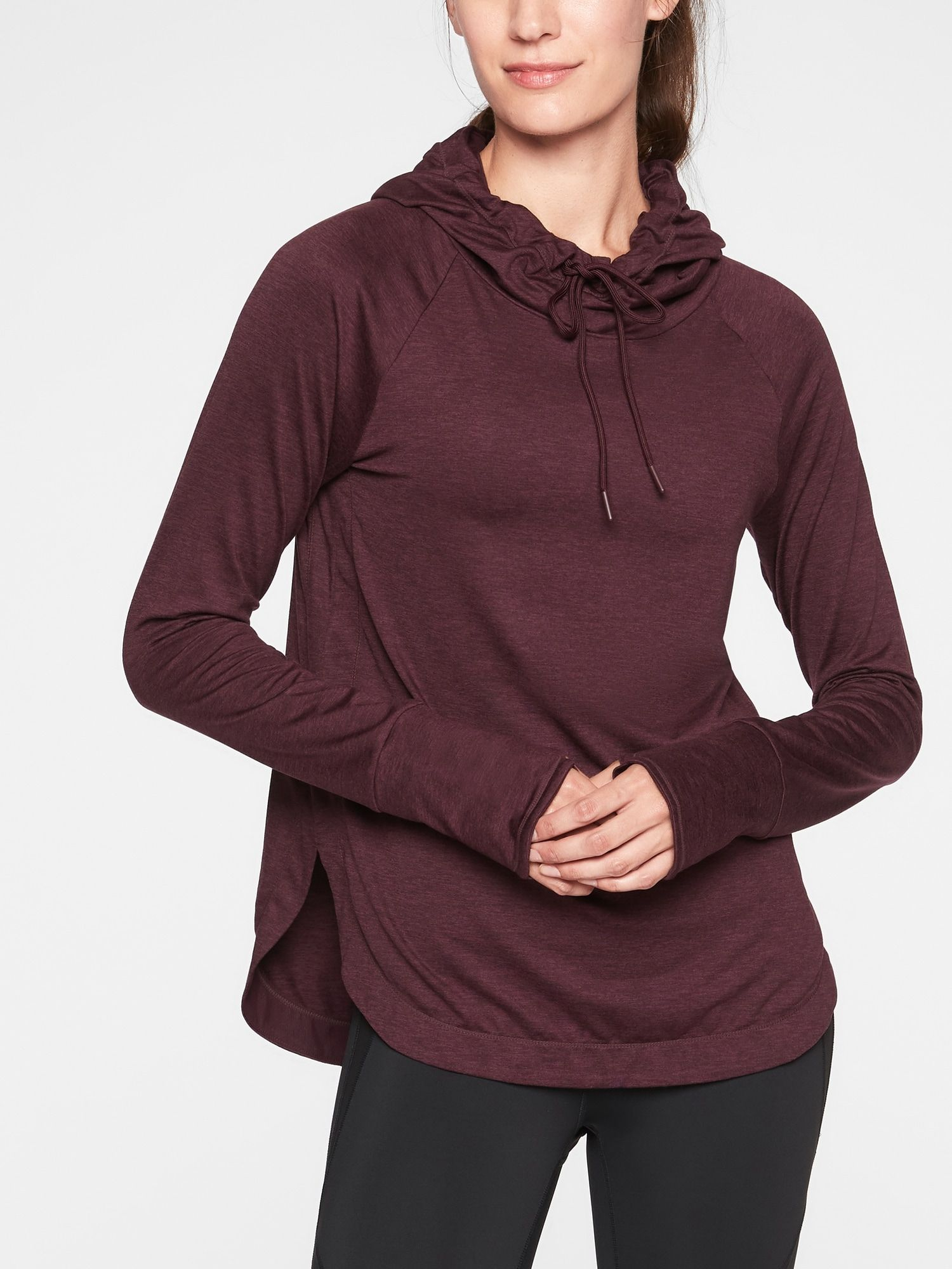 Uptempo Hoodie Sweatshirt Athleta Sweatshirts Hoodie Hoodies Workout Tops For Women [ 2000 x 1500 Pixel ]
