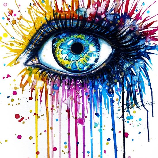 to see life in full colour   Abstract in 2019   Eyes ...