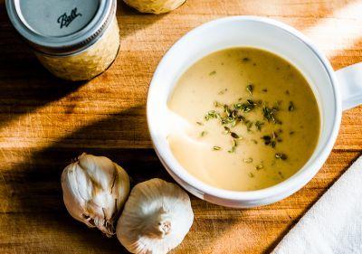 supa de ceapa si usturoi