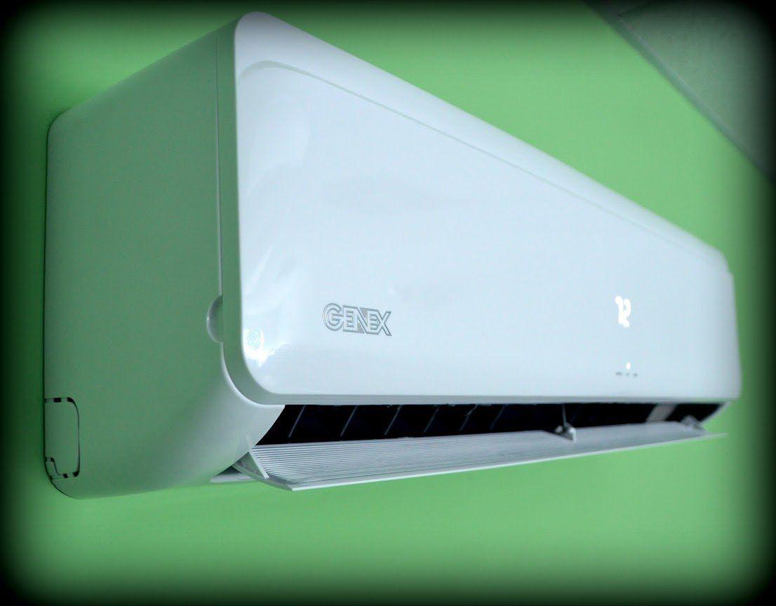Features Benefits Genex Air Conditioner Inverter Ductless Wall Mount Mini Split System Heat Pump Full Set 15 Seer 12000 Btu 110v