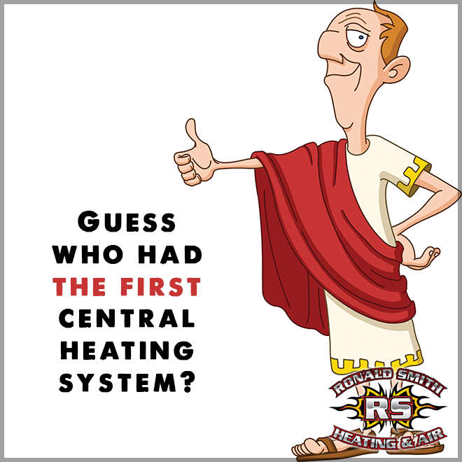 One of the first civilizations to ever use central heating was the ...
