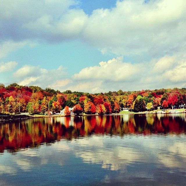 Places To Camp Pa: Treasure Lake In DuBois, PA