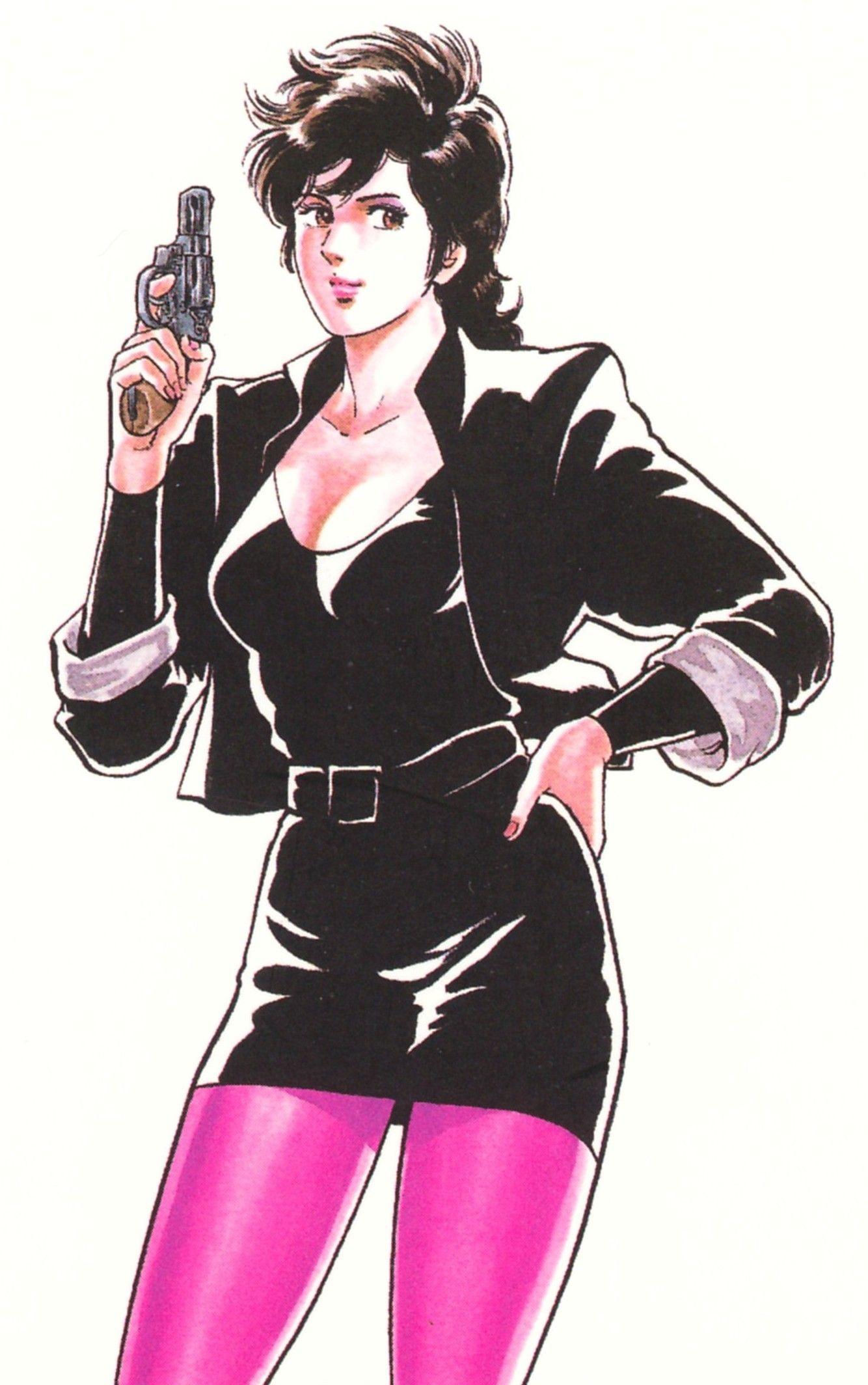 "Female Superhero Hentai regarding city hunter"" | anime city hunter saeba ryo | pinterest"