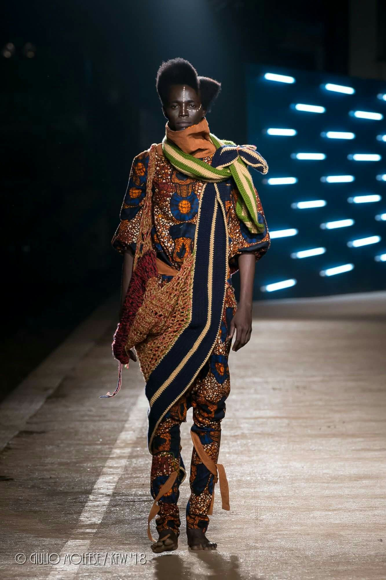 Igc Collection Ss1 Kfw Collection Kampala Disaster Style Afro Vangard Inspiration African Heritage Culture Futuri Fashion Africa Fashion Fashion Week