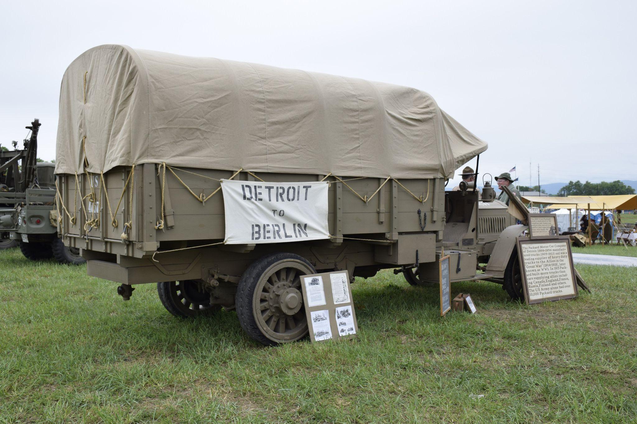 Https Flic Kr P V1l3pu Packard Army Truck