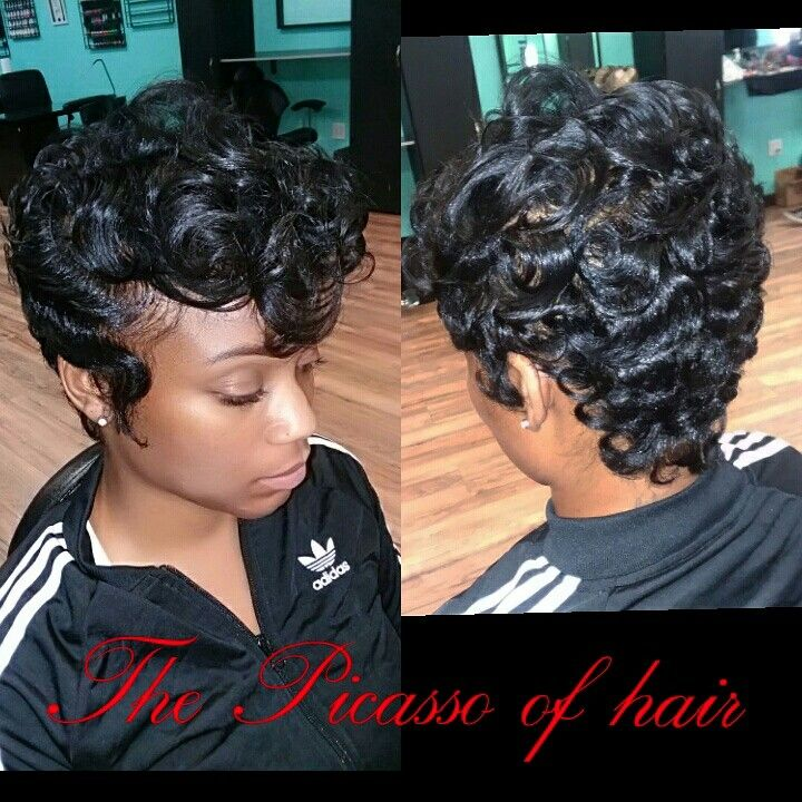 Pin By Wanda Dupree On The Picasso Of Hair Short Hair Styles