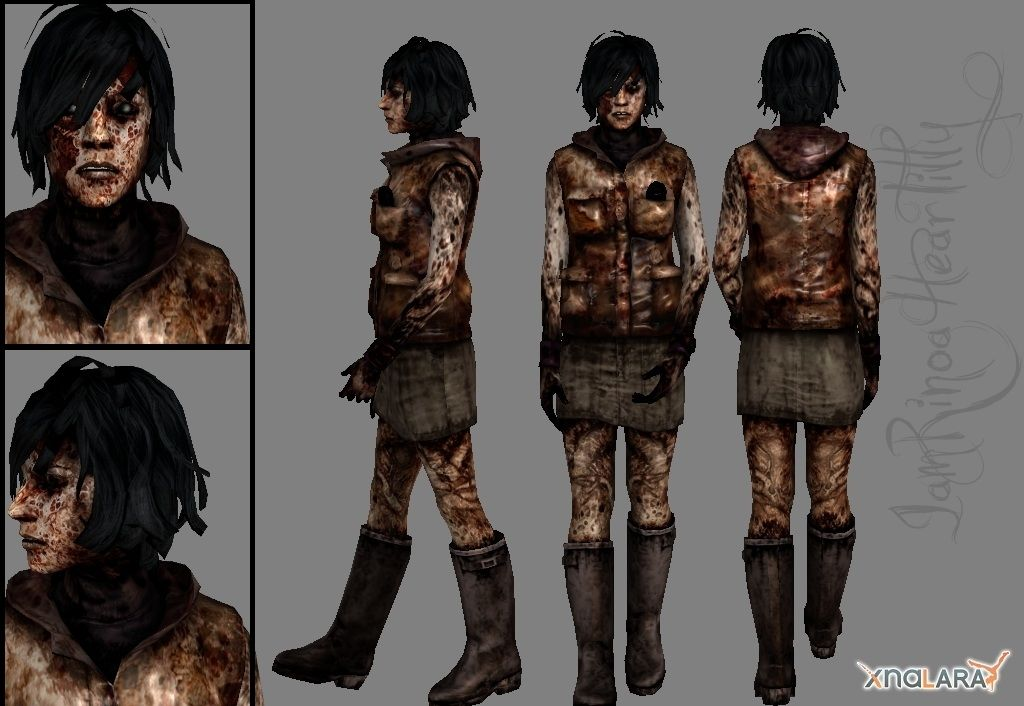 Heather And The Town S Memory Of Alessa Gillespie Silent Hill 3